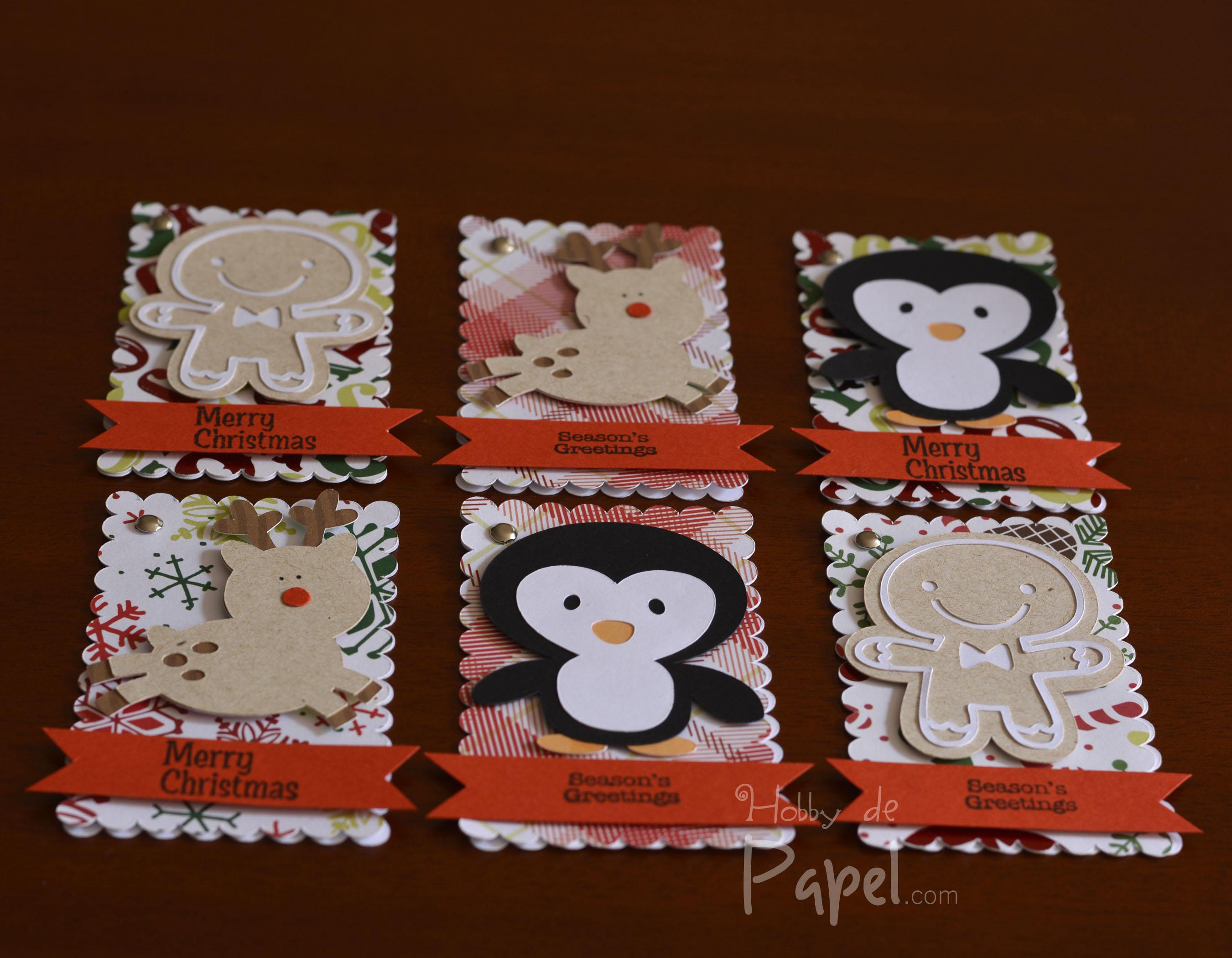 Proyecto navidad tags para regalos blog de hobby de papel for Detalles de navidad